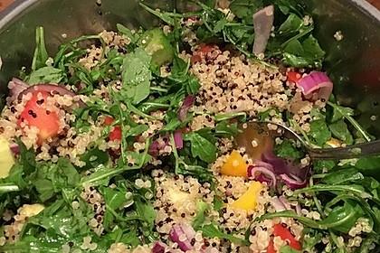 Inkasalat - würziger Quinoasalat mit Avocado und Rucola 21