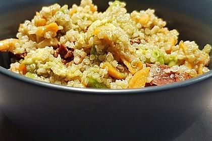 Inkasalat - würziger Quinoasalat mit Avocado und Rucola 7