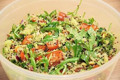 Inkasalat - würziger Quinoasalat mit Avocado und Rucola 11