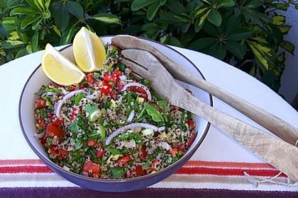 Inkasalat - würziger Quinoasalat mit Avocado und Rucola 18