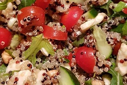 Inkasalat - würziger Quinoasalat mit Avocado und Rucola 22