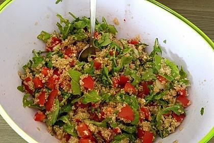 Inkasalat - würziger Quinoasalat mit Avocado und Rucola 15
