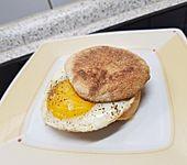 Toastie mit Spiegelei und Käse (Bild)