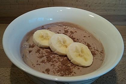 Bananen-Kakao Aufstrich (Bild)