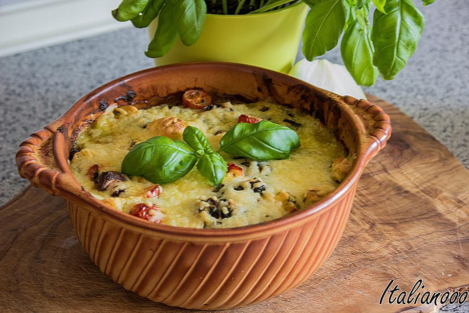 Italienischer-Gnocchi-Spinat-Auflauf-mit-Gorgonzola