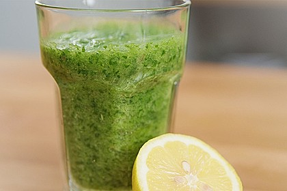 Green Smoothie - gesund und lecker 1