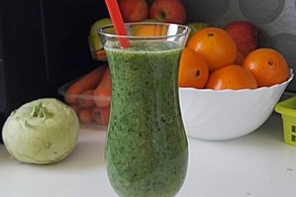 Green Smoothie - gesund und lecker