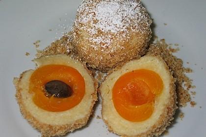 Saftige Aprikosenknödel (Marillenknödel)