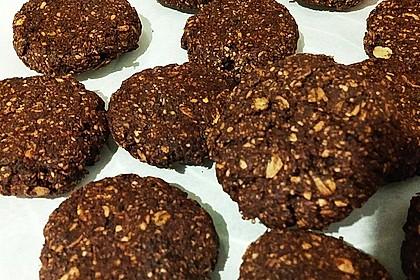 Kohlenhydratreduzierte Schoko-Cookies