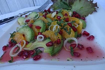 Avocado-Orangen-Salat (Bild)