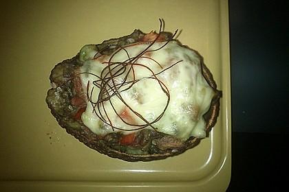 Gefüllte Avocado aus dem Ofen