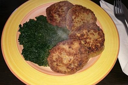 Vegetarisches gebratenes Hackfleisch ohne Soja