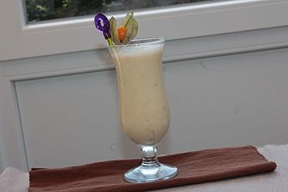Veganer Mandelmilch-Bananen-Smoothie 1