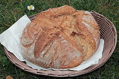 Kamut-Roggen-Weizenbrot