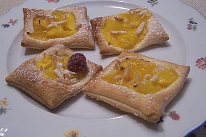 Mango-Törtchen aus Blätterteig 2