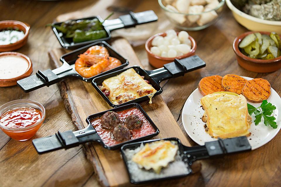was braucht man alles für raclette