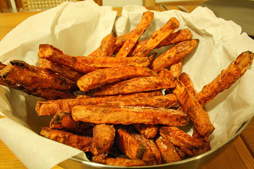 Knusprige Süßkartoffel Pommes Frites Von Goeteborg Chefkochde