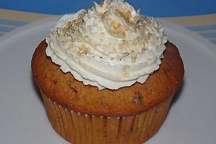 Kürbis-Cupcakes