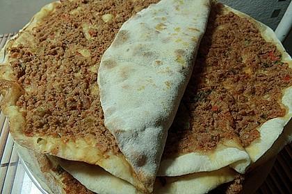 Türkische Pizza (Lahmacun) 1