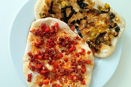 Vegane türkische Pizza 3