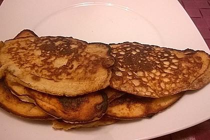 Kokosmehl Pancakes 5