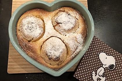 Bratapfel-Kuchen (Bild)