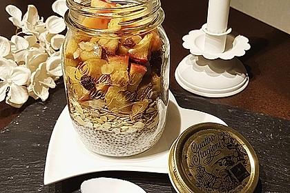 Bratapfel-Chia-Pudding 2