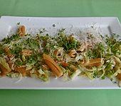 Sommerliche Pasta mit Wirsing-Zitronen-Soße (Bild)