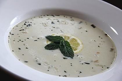Italienische weiße Reissuppe 2