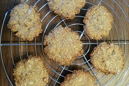 Quinoa-Kekse mit Mandeln (Bild)
