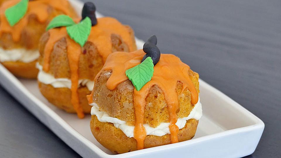 Mini Kurbis Kuchen Von Nicoles Zuckerwerk Chefkoch De