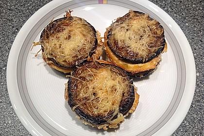 Auberginen-Lasagne-Muffins