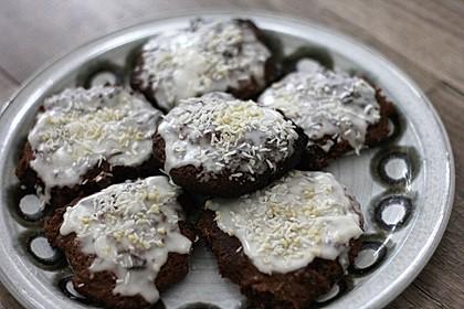 Pfefferkuchen auf Oblaten nach Oma Erika 1