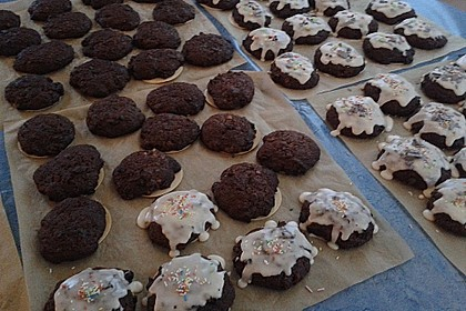 Pfefferkuchen auf Oblaten nach Oma Erika