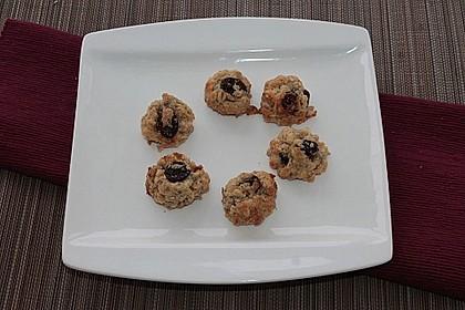 Haferflocken-Cranberry-Sonnenblumenkern-Cookies 1