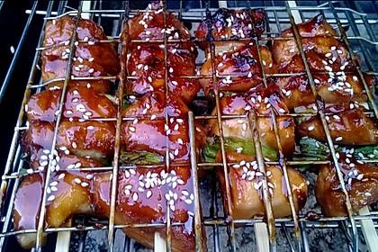 BBQ Grill-Spieße Japanisch Yakitori