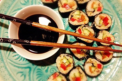 Veganes Sushi Mexican Style