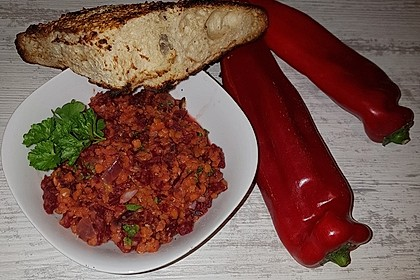 Rote-Linsen-Salat mit Roter Bete 37