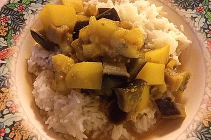 Auberginen-Bananen-Curry 1