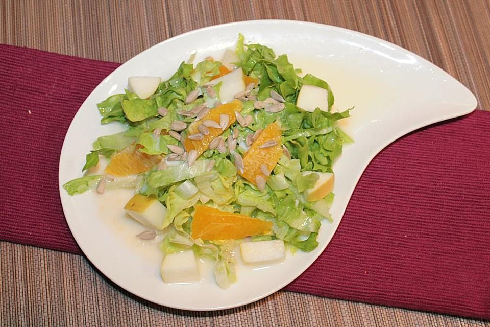 orangen dressing für salat