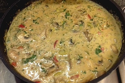 Hähnchen-Curry-Lauch-Suppe 12