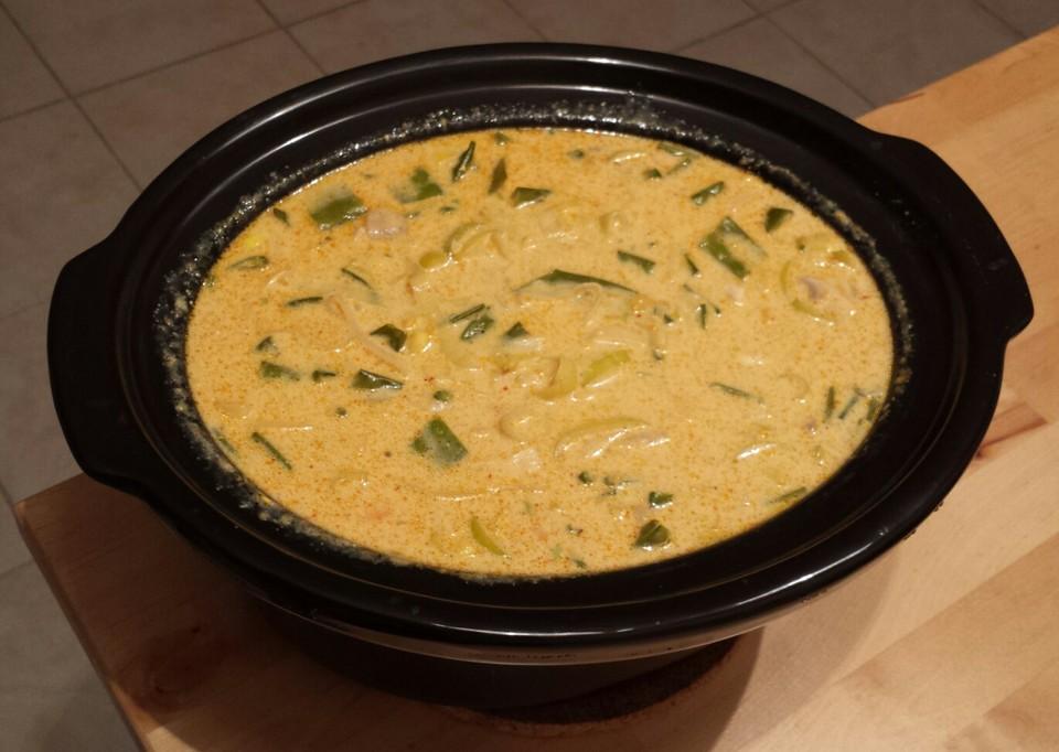 Hähnchen-Curry-Lauch-Suppe von Critters99 | Chefkoch