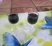 Schlehen-Rotwein-Likör (Bild)