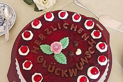 Rotkäppchen Torte 4