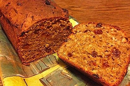 Süsskartoffel-Rosinen-Brot