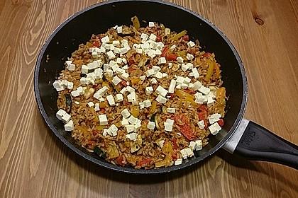 Griechische Reispfanne 4