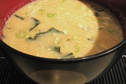 Nori - Suppe mit Ei