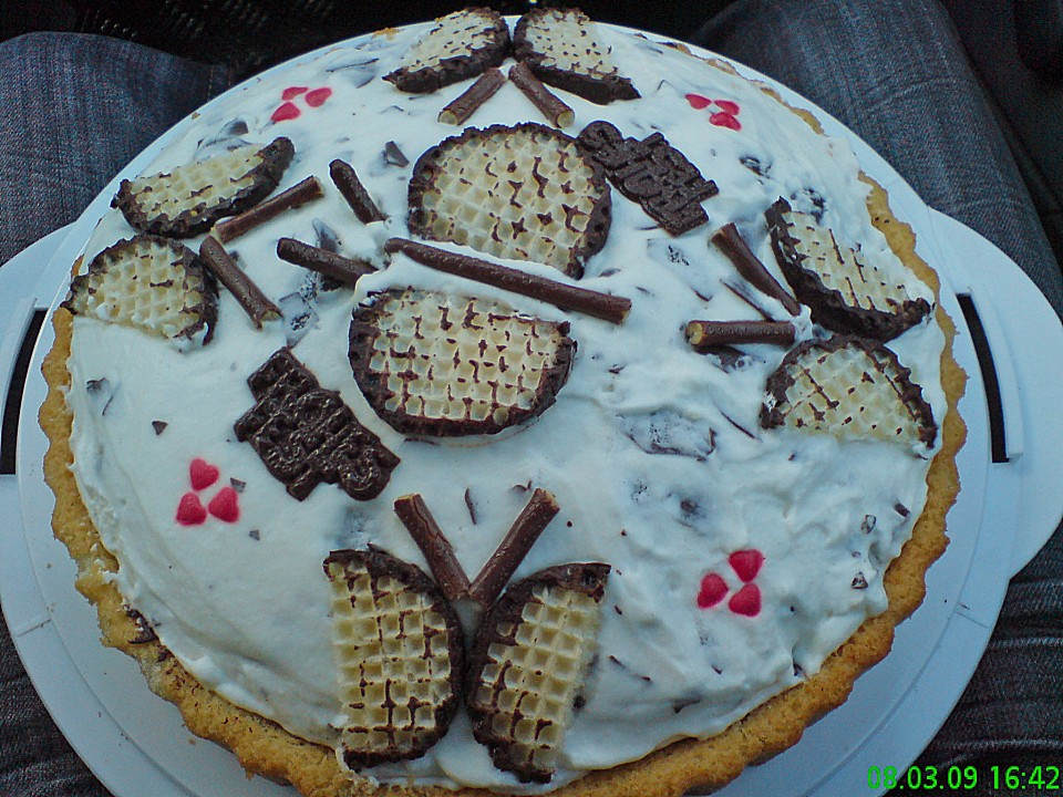 Schokokuss Torte Ein Schones Rezept Chefkoch De