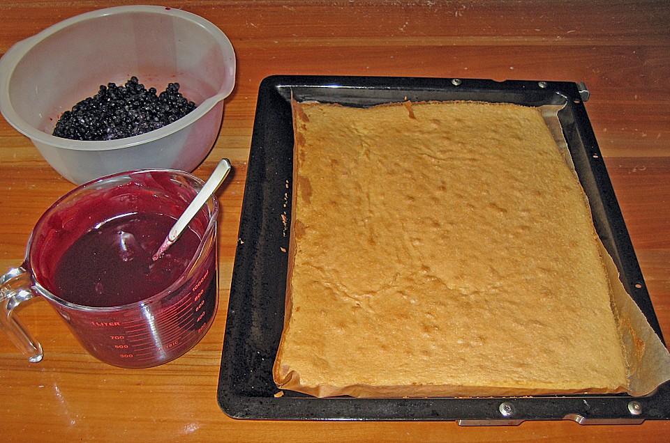 Heidelbeer Eierlikorkuchen Ein Tolles Rezept Chefkoch De