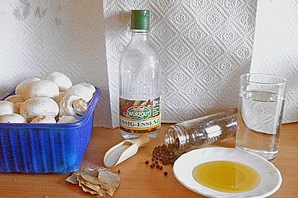 Pilze in Öl